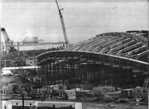 Parc Olympique, Olympic Park, 1974
