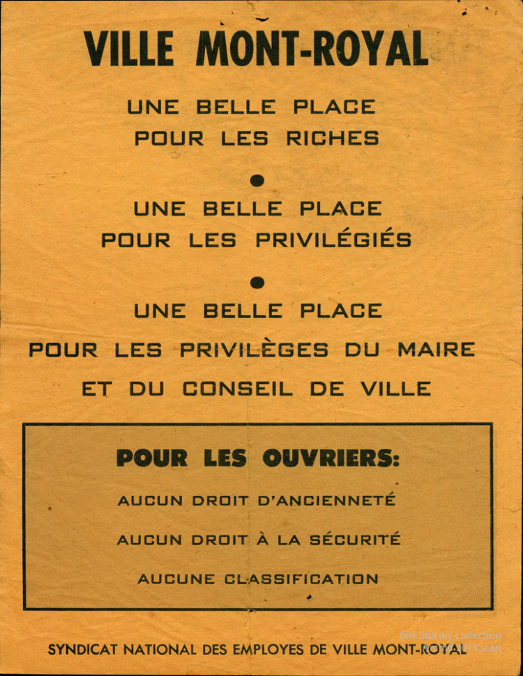 TMR - Ville Mont-Royal